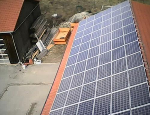 Photovoltaikanlage: Bauhof Neunkirchen am Brand
